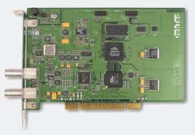 DTA-107S2 - DVB-S/S2 Modulator with L-Band Upconverter for PCI Bus