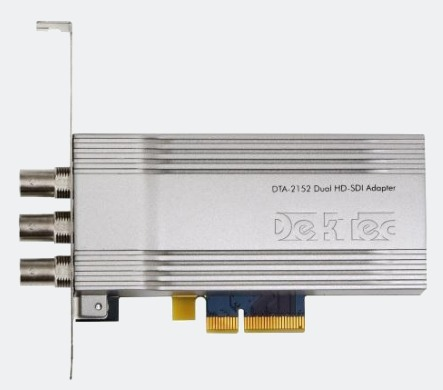 DTA-2152 - Dual-Port HD-SDI Adapter with Genlock
