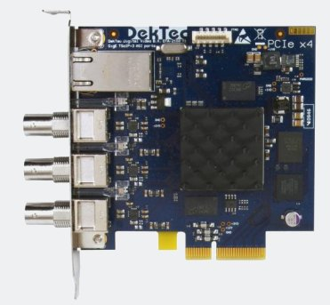 DTA-2160 - GigE + 3x ASI ports for PCI Express