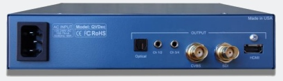 QVDEC - H.264 and MPEG-2 IP Video Decoder