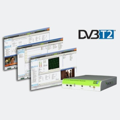 ReFeree T2 - DVB-T2 and DVB-T Measurement Receiver